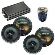 Compatible with Honda Fit 2007-2008 Factory Speakers Replacement Harmony (2) C65 & CXA360.4