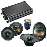 Compatible with Kia Spectra 5 2005-2008 OEM Speakers Replacement Harmony C65 C68 & CXA360.4