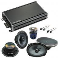 Compatible with Mitsubishi 3000GT 91-99 OEM Speakers Replacement Harmony C65 C69 & CXA360.4 Amp