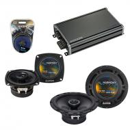 Compatible with Subaru Forester 2005-2008 OEM Speaker Replacement Harmony R65 R4 & CXA360.4 Amp