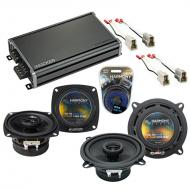Compatible with Subaru GL/DL 1981-1984 Factory Speaker Replacement Harmony R4 R5 & CXA360.4 Amp