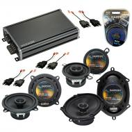 Compatible with Dodge Daytona 1984-1993 Factory Speaker Replacement Harmony Speakers & CXA360...