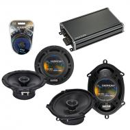 Compatible with Subaru XT Coupe 1985-1990 OEM Speaker Replacement Harmony R5 R65 & CXA360.4 Amp