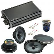 Compatible with Toyota Solara 1999-2003 OEM Speakers Replacement Harmony C65 C69 & CXA360.4 Amp