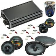 Compatible with Toyota Tacoma 2005-2015 Factory Replacement Harmony Premium Speakers & CXA360.4