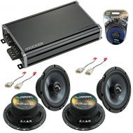 Compatible with Toyota Tundra 2003-2014 Factory Speakers Replacement Harmony (2) C65 & CXA360.4