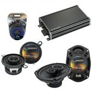 Compatible with Dodge Diplomat 1980-1983 OEM Speaker Replacement Harmony R35 R69 & CXA360.4 Amp