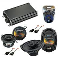 Compatible with Dodge Diplomat 1984-1989 OEM Speaker Replacement Harmony R35 R69 & CXA360.4 Amp