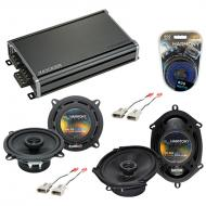 Compatible with Ford Probe 1993-1997 Factory Speaker Replacement Harmony R65 R68 & CXA360.4 Amp