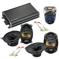 Compatible with GMC S-15 Jimmy 1982-1985 OEM Speaker Replacement Harmony R46 R69 & CXA360.4 Amp