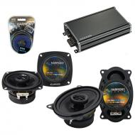 Compatible with Mercedes 420 Series 86-96 OEM Speaker Replacement Harmony R4 R46 & CXA360.4 Amp