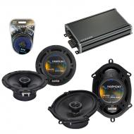 Compatible with Mercury Tracer 97-99 OEM Speaker Replacement Harmony R65 R68 & CXA360.4 Amp