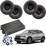 Compatible with Mitsubishi Outlander 2014-2019 Factory Speaker Replacement Package R65 CXA360.4