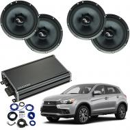 Compatible with Mitsubishi Outlander 2014-2019 Premium Speaker Replacement Package C65 CXA360.4