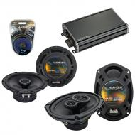 Compatible with Pontiac G6 2005-2008 Factory Speaker Replacement Harmony R65 R69 & CXA360.4 Amp