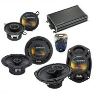 Compatible with Pontiac G8 2008-2009 OEM Speaker Replacement Harmony R65 R35 R69 & CXA360.4 Amp
