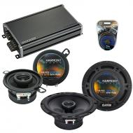 Compatible with Pontiac Lemans 1988-1993 OEM Speaker Replacement Harmony R35 R65 & CXA360.4 Amp