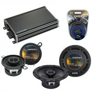 Compatible with Pontiac TransSport APV 1990-1992 OEM Speaker Replacement Harmony & CXA360.4 Amp