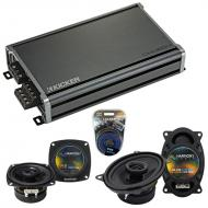 Compatible with Porsche 968 1992-1996 Factory Speaker Replacement Harmony R4 R46 & CXA360.4 Amp