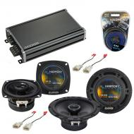 Compatible with Toyota 4 Runner 1996-2000 OEM Speaker Replacement Harmony R65 R4 & CXA360.4 Amp