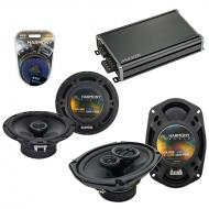 Compatible with Toyota Corolla 2009-2013 OEM Speaker Replacement Harmony R65 R69 & CXA360.4 Amp
