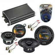 Compatible with Volkswagen GTI 1985-1985 OEM Speaker Replacement Harmony R65 R35 & CXA360.4 Amp