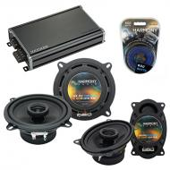 Compatible with Yugo GV/GVX 1986-1990 OEM Speaker Replacement Harmony R5 R46 & CXA360.4 Amp