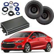 Compatible with Chevrolet Cruze 2016-2018 Factory Speaker Replacement Package Harmony R65 CXA360.4