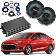 Compatible with Chevrolet Cruze 2016-2018 Premium Speaker Replacement Package Harmony C65 CXA360.4