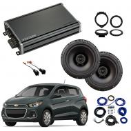 Compatible with Chevrolet Spark 2016-2018 Factory Speaker Replacement Package Harmony R65 CXA360.4