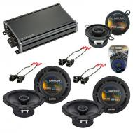 Compatible with Buick Rainier 2004-2007 Factory Speaker Replacement Harmony R65 R35 & CXA360....