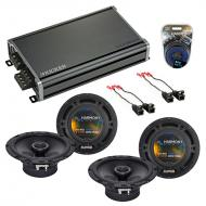 Compatible with Buick Terraza 2005-2008 Factory Speaker Replacement Harmony (2) R65 & CXA360....