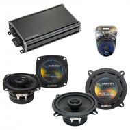 Compatible with Chevy Corvette 1990-1996 Factory Speaker Replacement Harmony R4 R65 & CXA360....