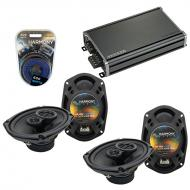 Compatible with Dodge Avenger 2007-2014 Factory Speaker Replacement Harmony (2) R69 & CXA360....