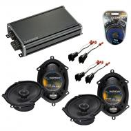 Compatible with Ford Explorer 2006-2010 Factory Speaker Replacement Harmony (2) R68 & CXA360....