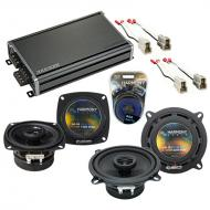 Compatible with GEO Tracker 1989-1991 Factory Speaker Replacement Harmony R4 R5 & CXA360.4 Amp