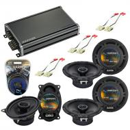Compatible with GMC Jimmy 1994-1994 Factory Speaker Replacement Harmony R65 R46 & CXA360.4 Amp