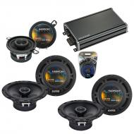 Compatible with Saab 9-7x 2005-2009 Factory Speaker Replacement Harmony R65 R35 & CXA360.4 Amp