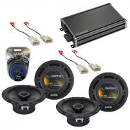 Compatible with Toyota Matrix 2003-2008 Factory Speaker Replacement Harmony (2) R65 & CXA360....