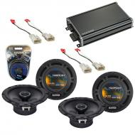 Compatible with Toyota Tundra 2003-2014 Factory Speaker Replacement Harmony (2) R65 & CXA360....