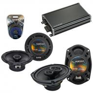 Compatible with Chrysler Sebring Coupe 02-06 Speaker Replacement Harmony R65 R69 & CXA360.4 Amp