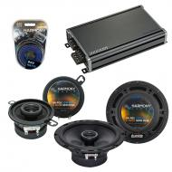 Compatible with Volvo S60 2005-2009 Factory Speaker Replacement Harmony R65 R35 & CXA360.4 Amp