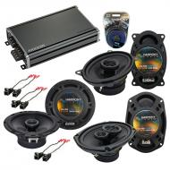 Compatible with Cadillac DeVille 1988-1989 OEM Speaker Replacement Harmony Speakers & CXA360....