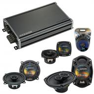 Compatible with Cadillac DeVille 1996-1999 OEM Speaker Replacement Harmony Speakers & CXA360....