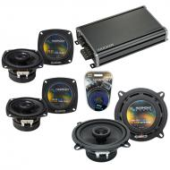 Compatible with Honda Passport 1996-1997 OEM Speaker Replacement Harmony (2) R46 R5 & CXA360....
