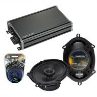 Compatible with Mazda Miata 1998-2014 OEM Speaker Replacement Harmony R68 & CXA360.4 Amplifier