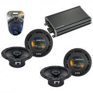 Compatible with Mazda MPV Van 1996-1999 OEM Speaker Replacement Harmony (2) R65 & CXA360.4 Amp