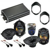 Compatible with Mercury Grand Marquis 98-02 OEM Speaker Replacement Harmony R68 R69 & CXA360....