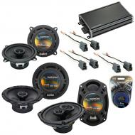 Compatible with Mitsubishi Galant 94-98 OEM Speaker Replacement Harmony Replacement & CXA360....