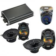 Compatible with Oldsmobile Alero 1999-2000 OEM Speaker Replacement Harmony Speakers & CXA360....
